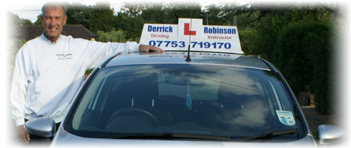 A proper driving instructor!